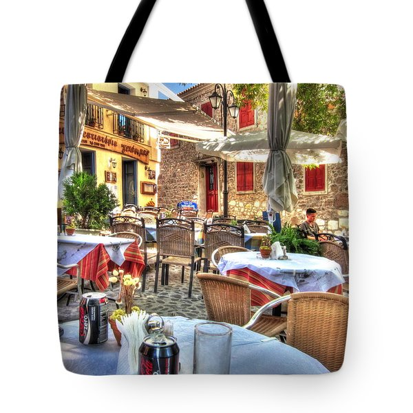 Tote Bag featuring the photograph Under The Sycamore Tree by Andreas Thust