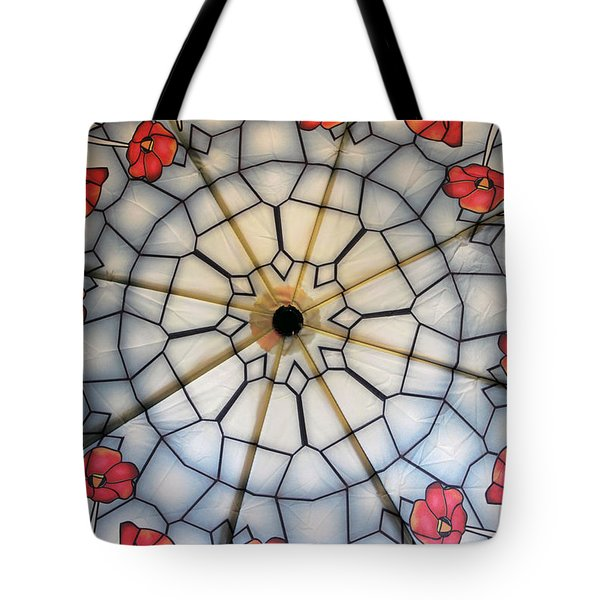 Under The Poppies Tote Bag
