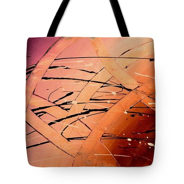 Under The Sea Abstract Modern Art By Saribelle Tote Bag