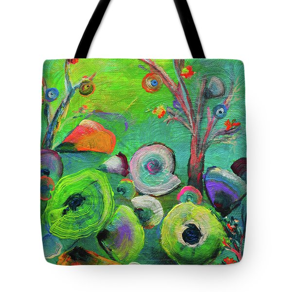 under the sea  - Orig painting for sale Tote Bag