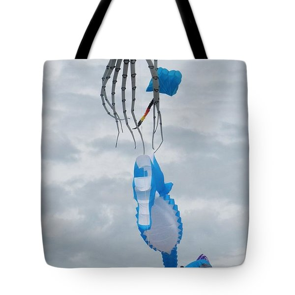 Under The Sea Kites 2 Tote Bag