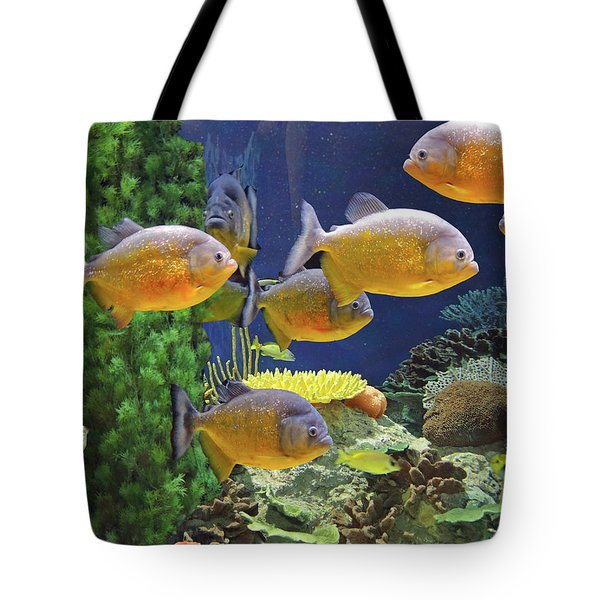 Under The Seen World 5 Tote Bag