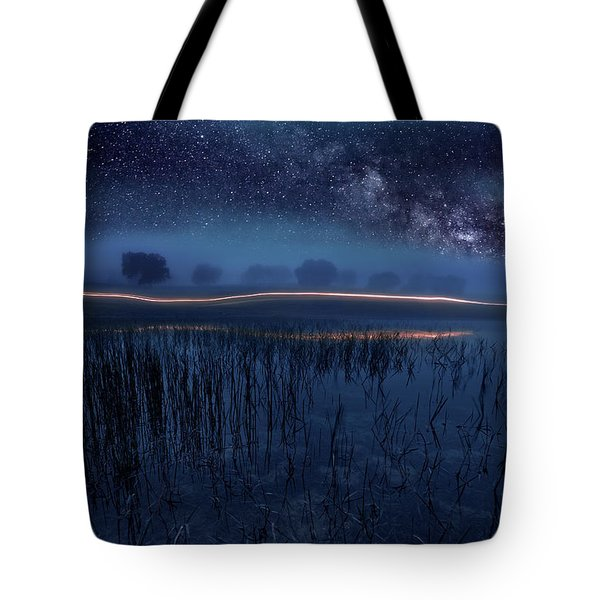 Under The Shadows Tote Bag
