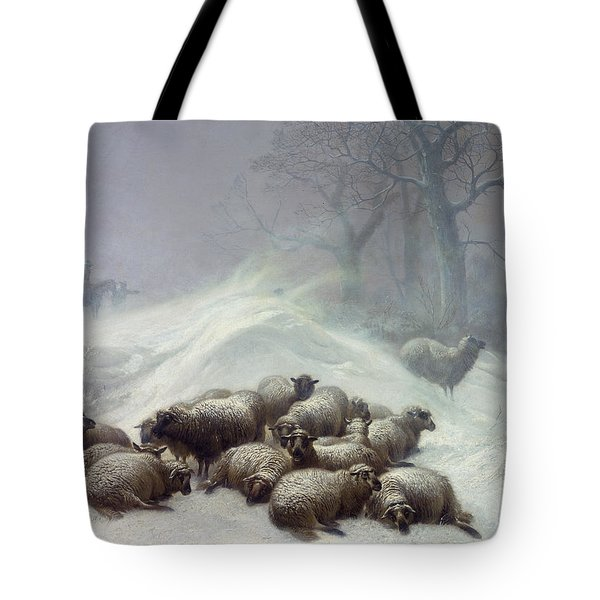 Under The Shelter Of The Shapeless Drift Tote Bag