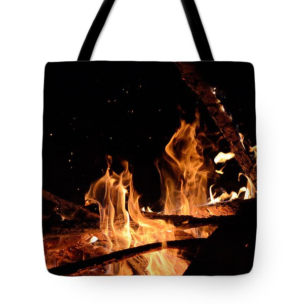 Under The Sparks Tote Bag