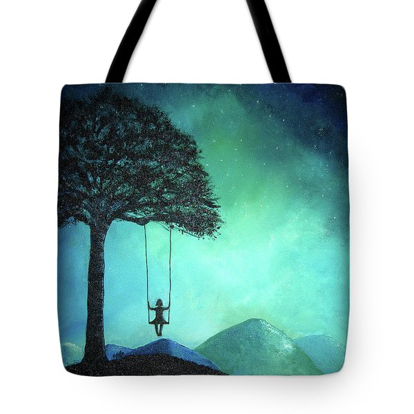 Under The Stars Tote Bag