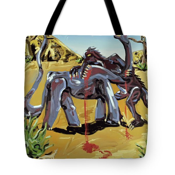 Tote Bag featuring the painting Under The Sun by Ryan Demaree