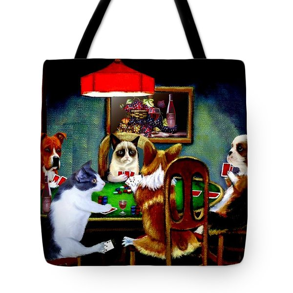 Under The Table 2 Tote Bag