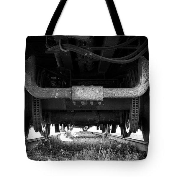 Under The Train Tote Bag