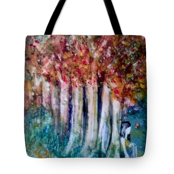 Under The Trees Tote Bag