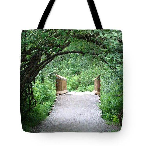 Under The Tunnel Tote Bag by Rod Jellison