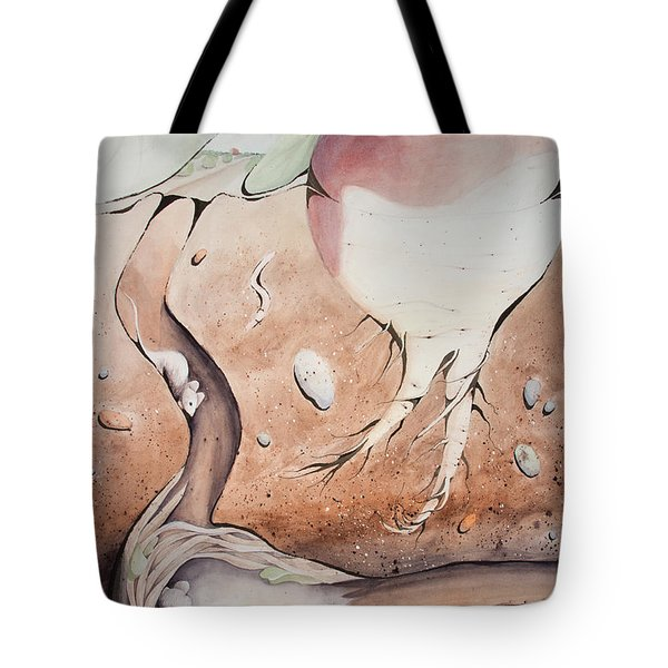 Under The Turnip Tote Bag
