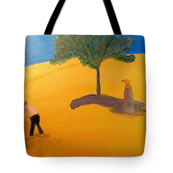 Tote Bag featuring the painting Under The Tuscan Sun by Bill OConnor
