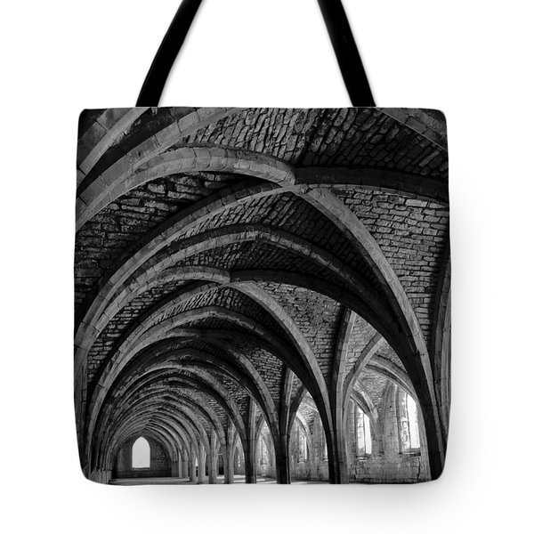 Under The Vaults. Vertical. Tote Bag