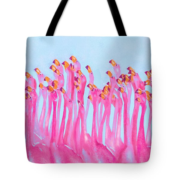 Tote Bag featuring the digital art Underdressed by Jane Schnetlage