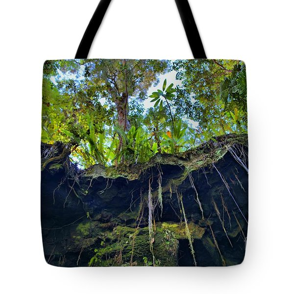 Tote Bag featuring the photograph Underground by DJ Florek