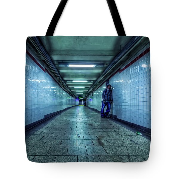 Underground Inhabitants Tote Bag