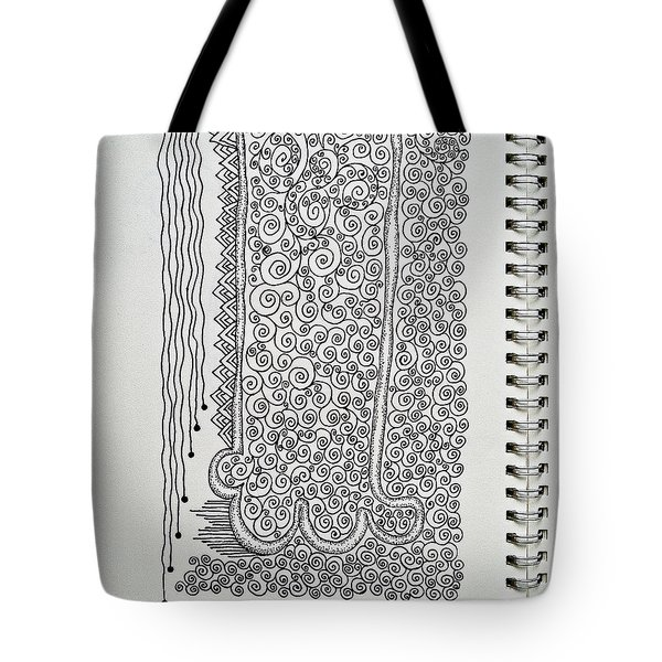 Sound Of Underground Tote Bag by Fei A