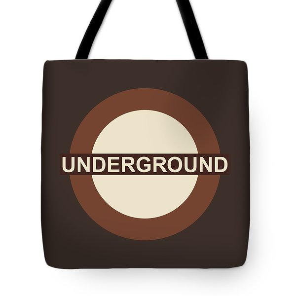 Underground75 Tote Bag by Saad Hasnain