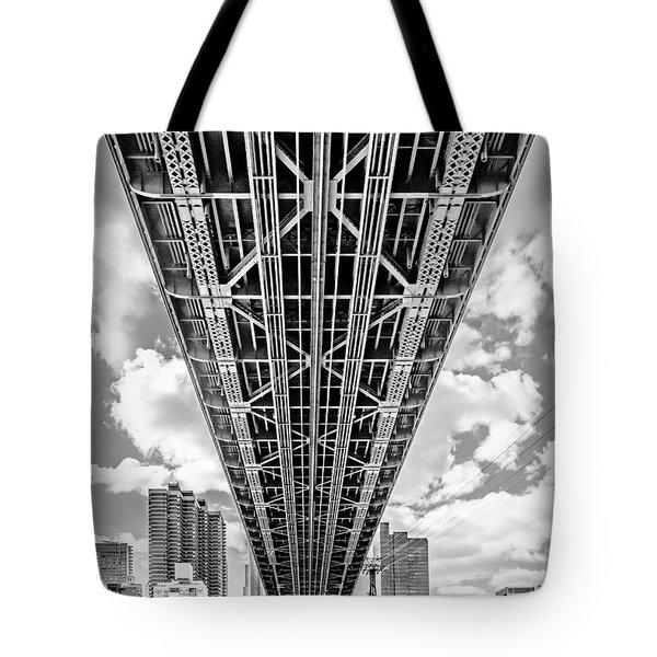 Underneath The Queensboro Bridge Tote Bag