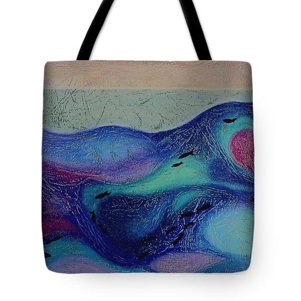 Undersea Movement Tote Bag