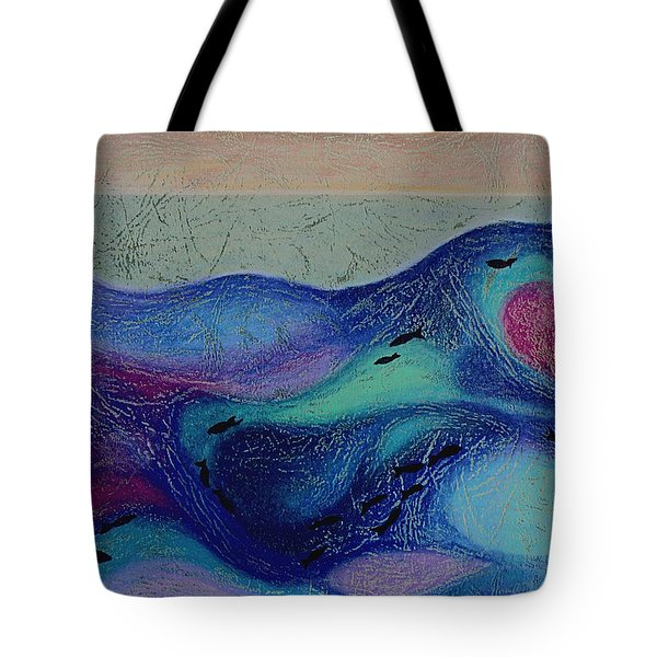 Undersea Movement Tote Bag