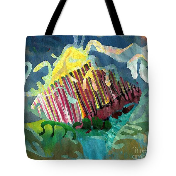Undersea Still Life Tote Bag by Sarah Loft