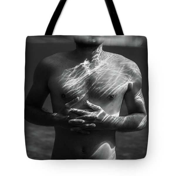 Underwater Chest Tote Bag