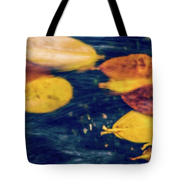 Underwater Colors Tote Bag