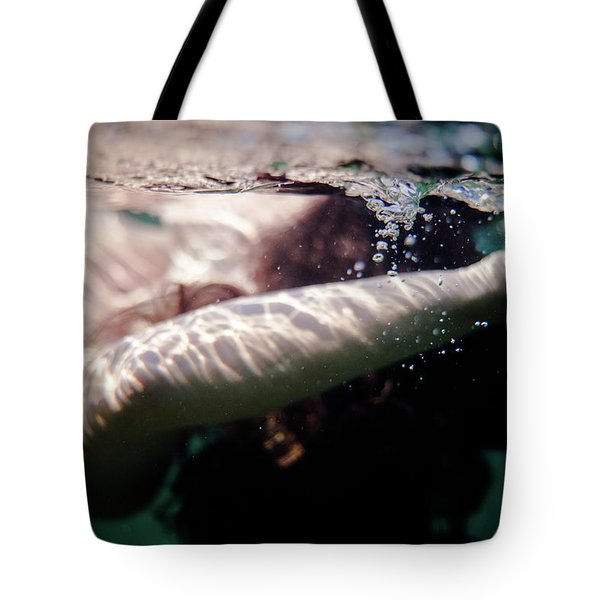 Underwater Detail Tote Bag