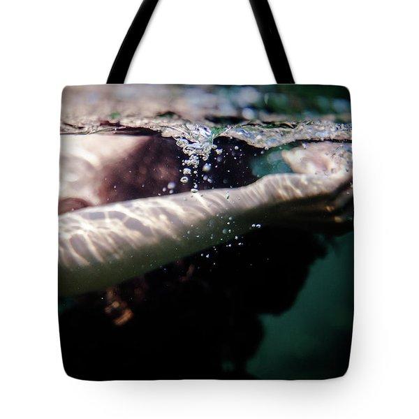 Underwater Detail Tote Bag
