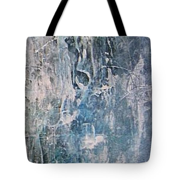 Tote Bag featuring the painting Underwater by Diana Bursztein