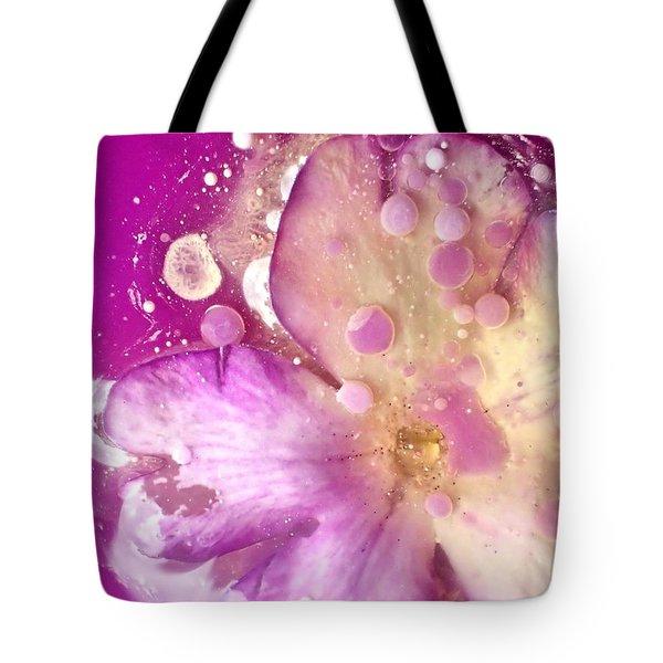 Underwater Flower Abstract 8 Tote Bag