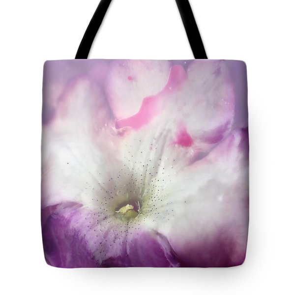 Underwater Flower Abstraction 9 Tote Bag by Lorella Schoales