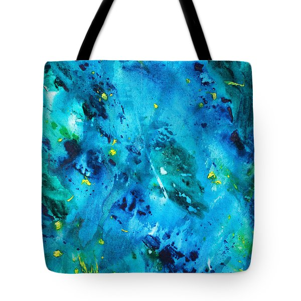 Underwater Forest Tote Bag