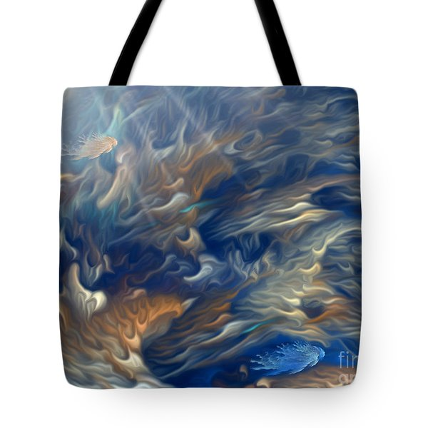 Underwater Tote Bag by Giada Rossi