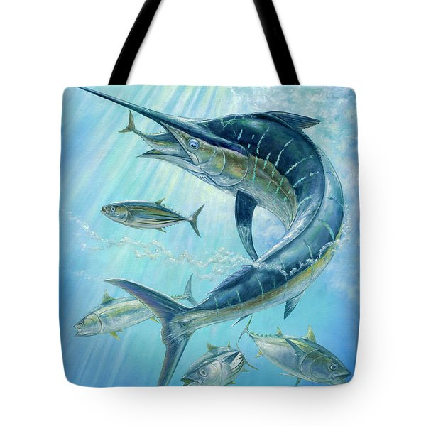 Underwater Hunting Tote Bag
