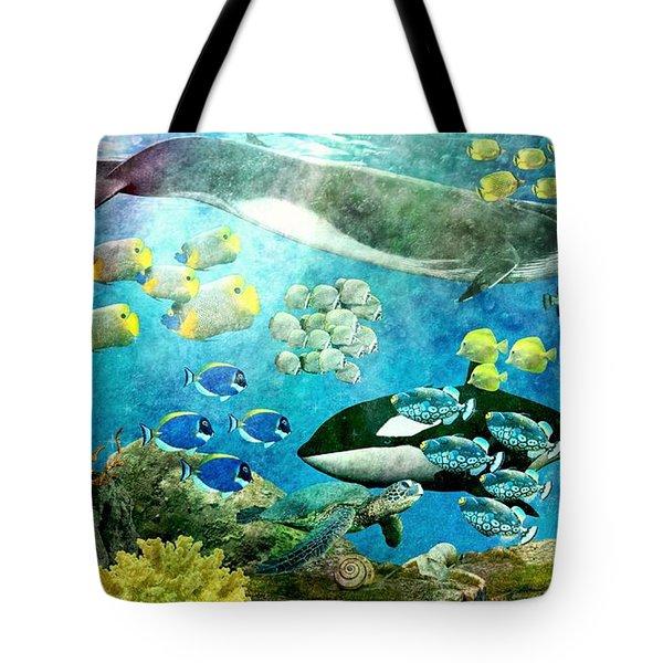Underwater Magic Tote Bag
