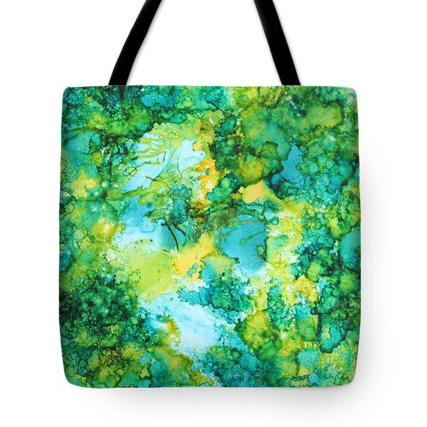 Underwater Map Tote Bag