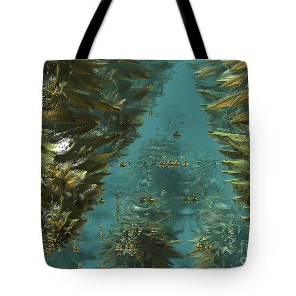 Underwater Plants Tote Bag by Melissa Messick