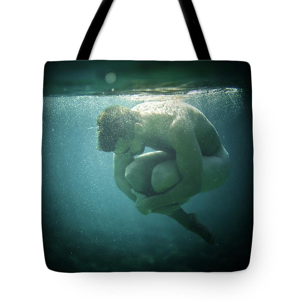 Underwater Rock Tote Bag