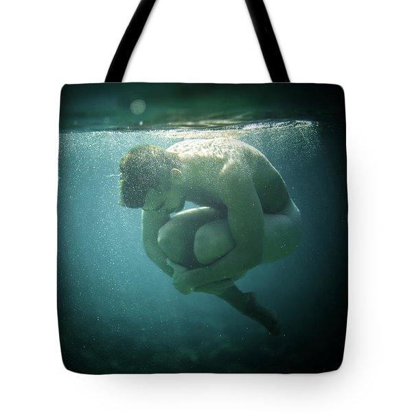 Underwater Rock Tote Bag