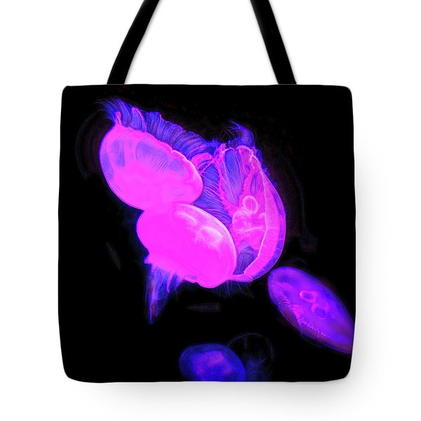 Tote Bag featuring the photograph Underwater Saucers by Miroslava Jurcik
