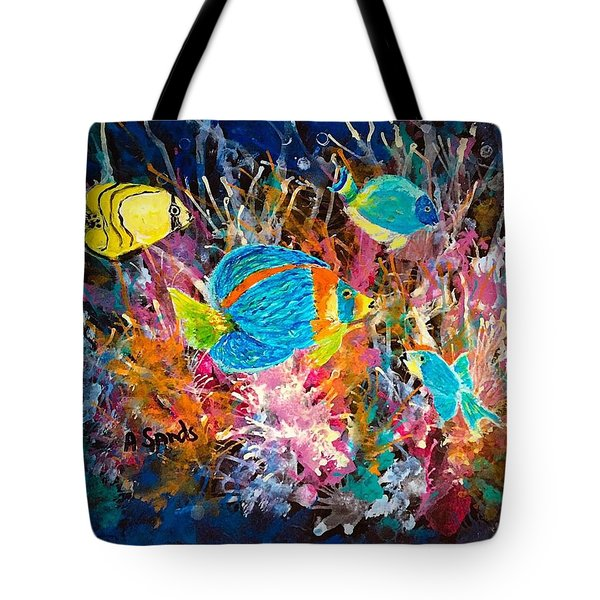 Underwater Sea Life Tote Bag