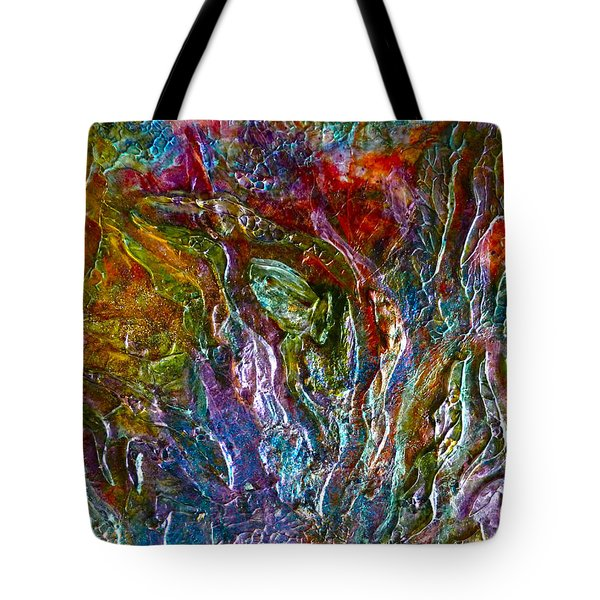 Underwater Seascape Tote Bag