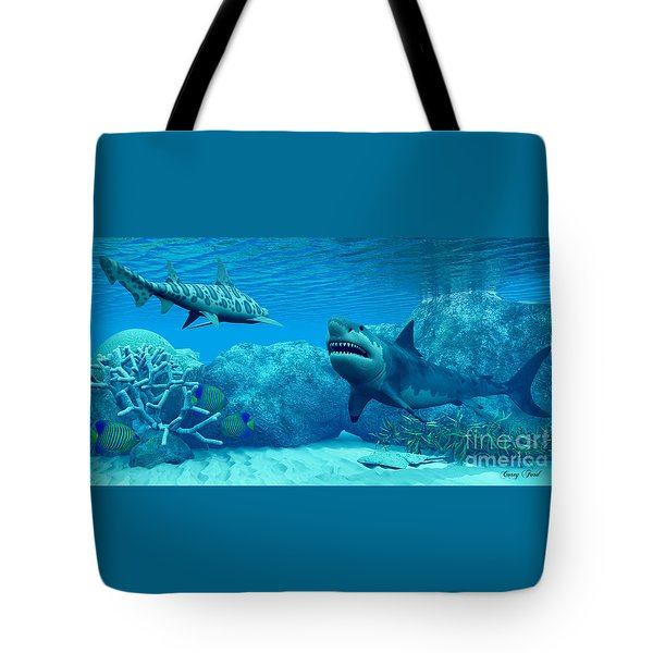 Underwater World Tote Bag by Corey Ford