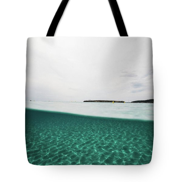 Underwaterline Tote Bag