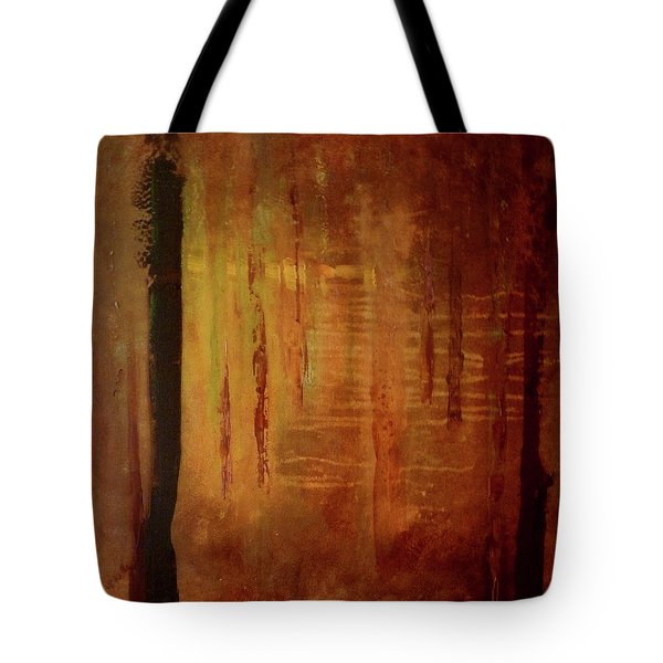 Tote Bag featuring the painting Underwood by Valerie Anne Kelly