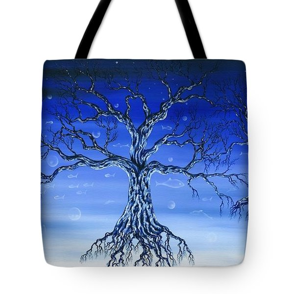 Underworld Tote Bag by Kenneth Clarke