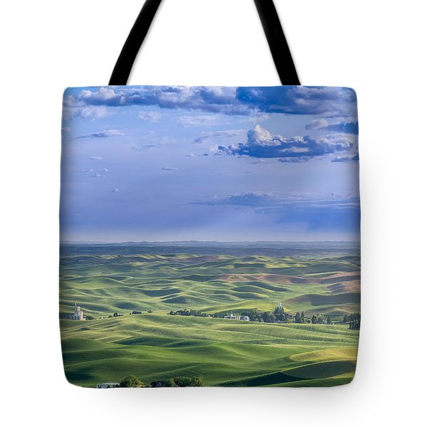 Undulating Palouse Wheatfields Tote Bag